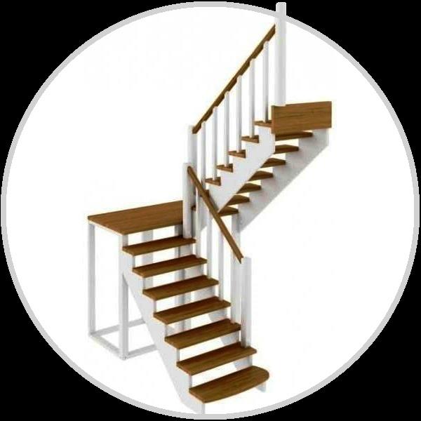 конструкция деревянной лестницы