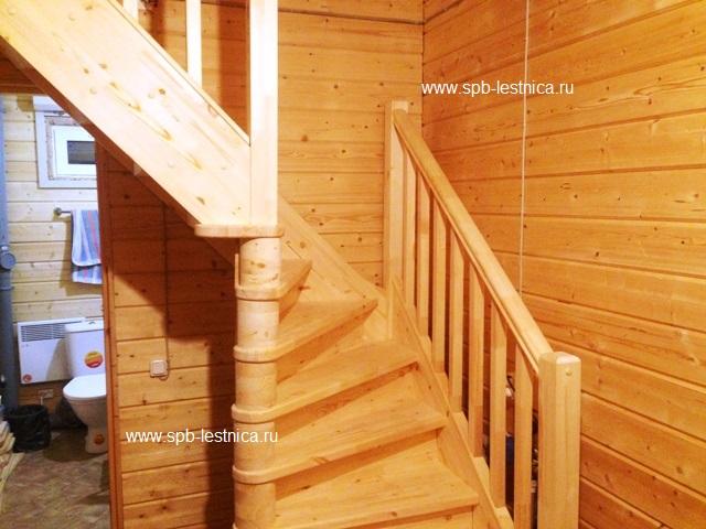 Ограждение лестницы на втором этаже своими руками фото 615